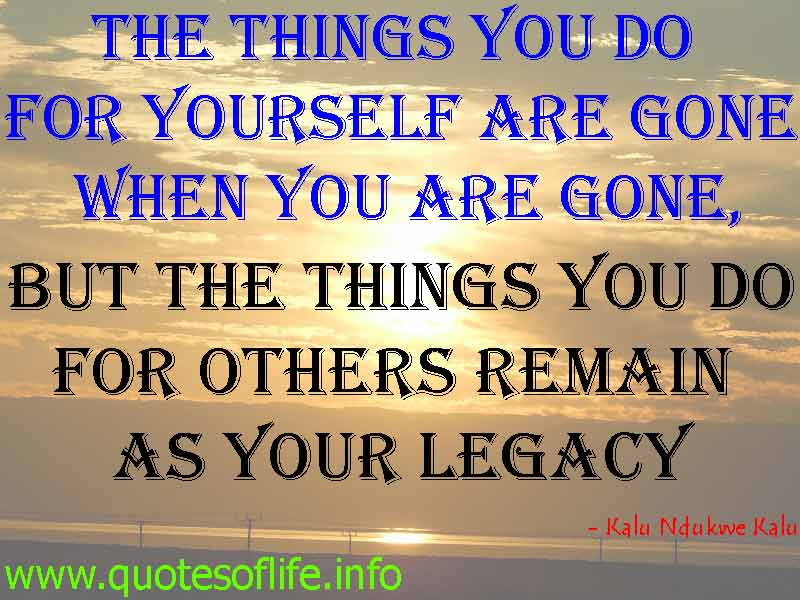 Do Things By Yourself Quotes. QuotesGram