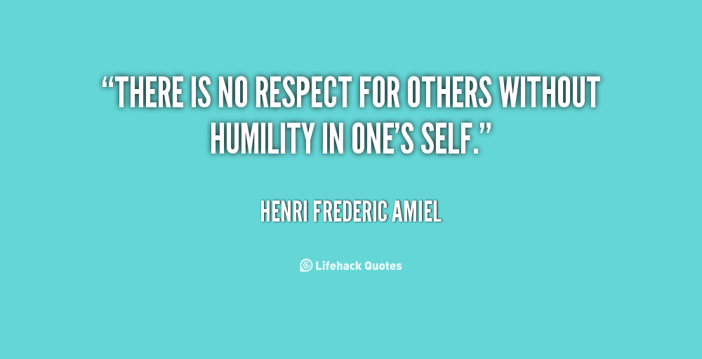 Quotes About Respecting Others. QuotesGram