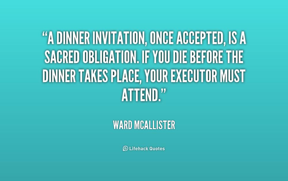 Dinner Invite Quotes. QuotesGram