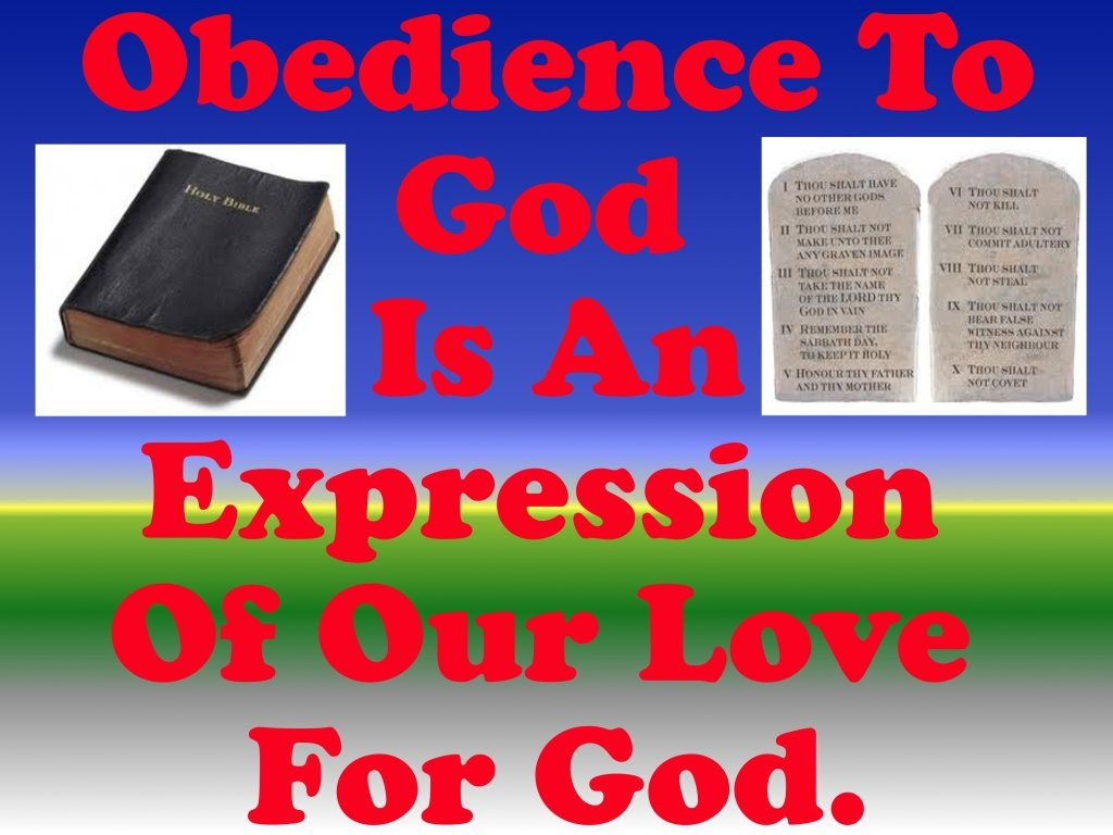 Quotes About Obedience To God Quotesgram