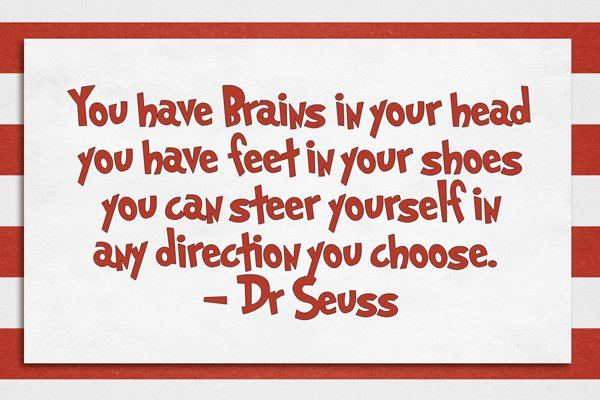 Tactueux image with printable dr seuss quotes