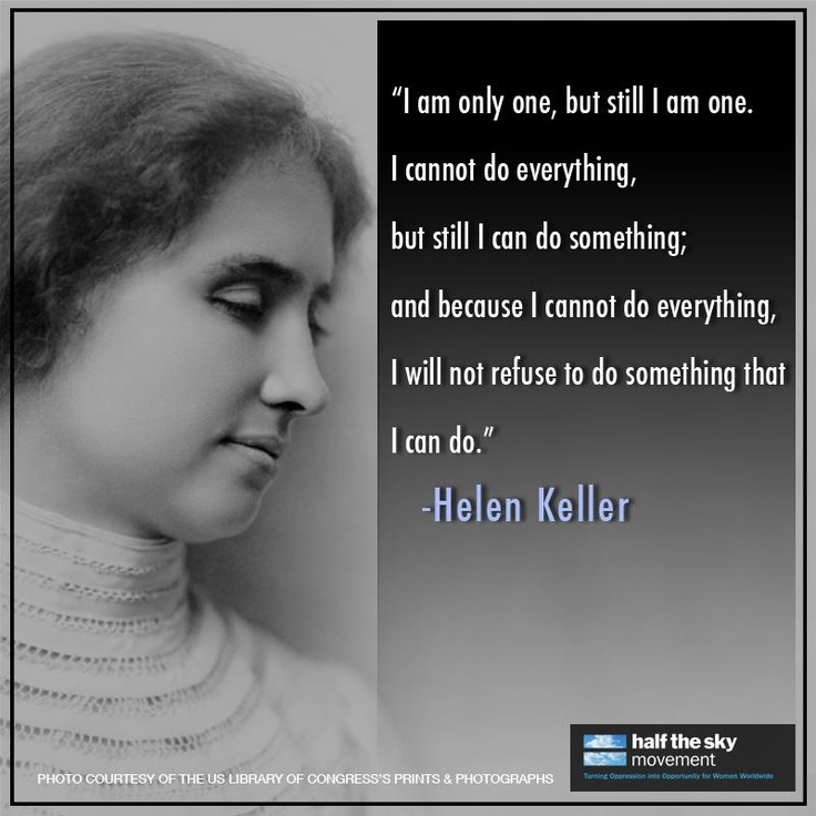 Inspirational Quotes Motivation: Helen Keller Quotes On Disability. QuotesGram