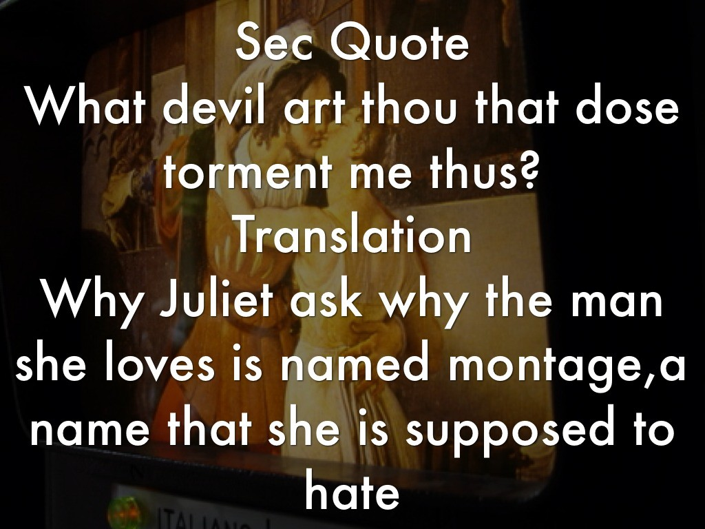 romeo and juliet relationship quotes