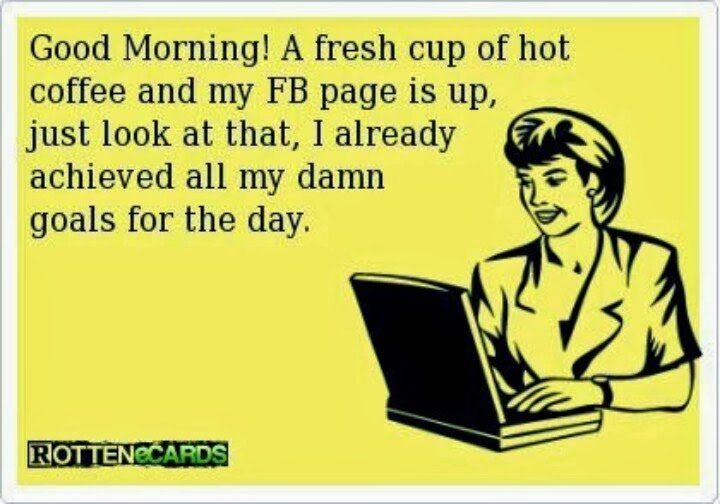 Funny Image Quotes For Facebook: Funny Coffee Quotes For Facebook. QuotesGram