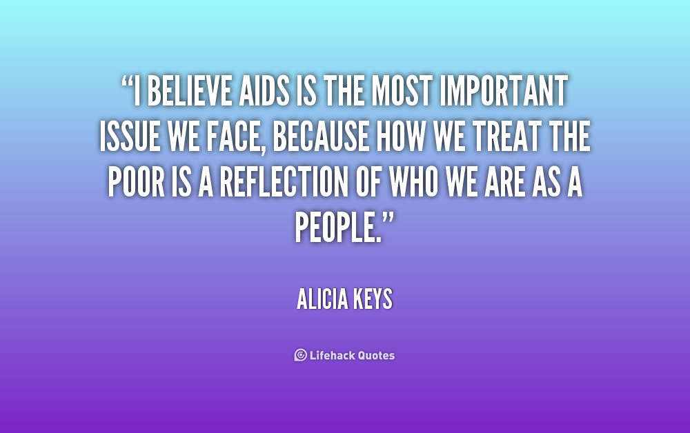 the importance of the issue of aids Aids has become the sixth-largest cause of death worldwide  precluded from  discussing issues related to hiv, participating in aids service organizations and .