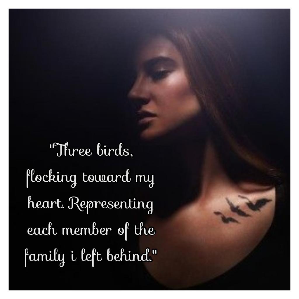 Divergent quotes tris quotesgram for Divergent tris bird tattoo