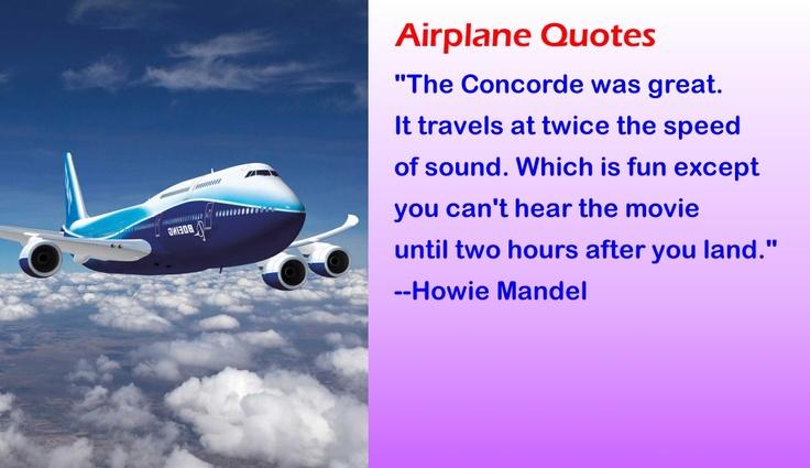 Funny Airplane Quotes Quotesgram