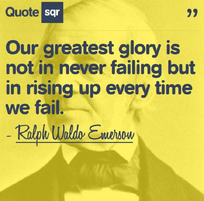 25 Best Failure Quotes On Pinterest: Quotes About Rising Up. QuotesGram