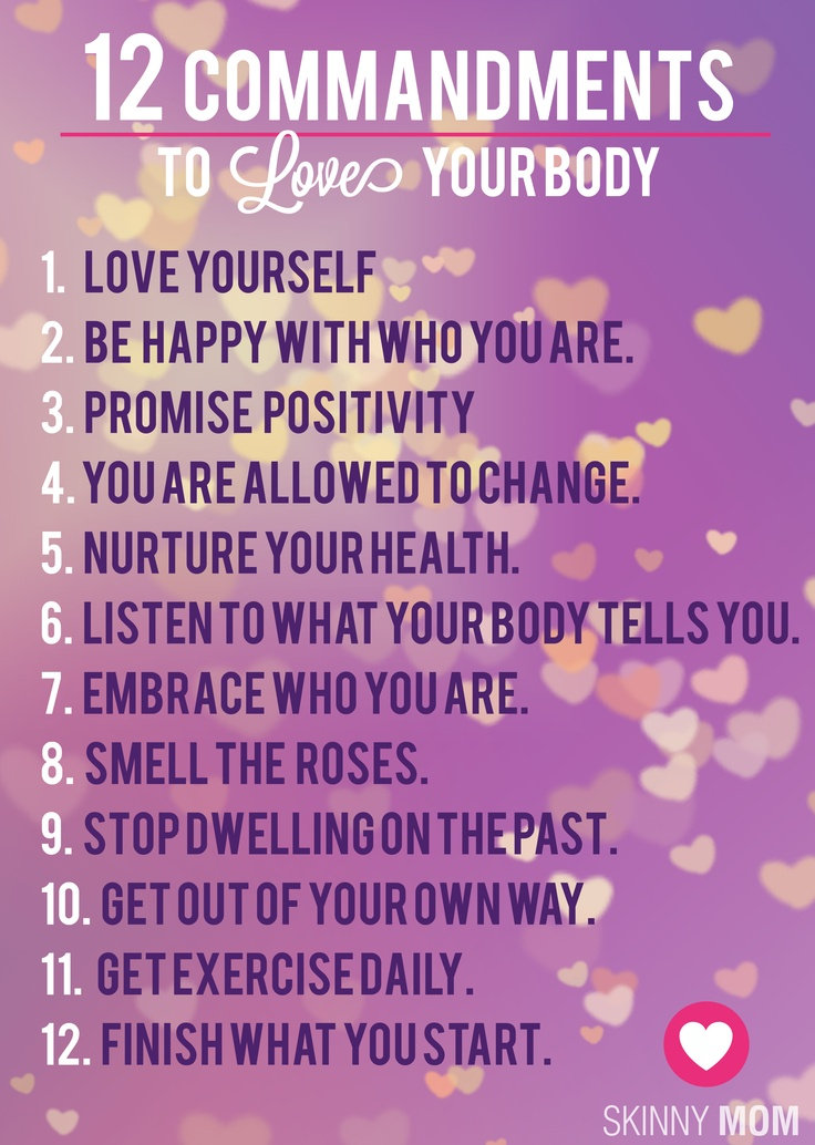 Quotes About Loving Your Body Quotesgram