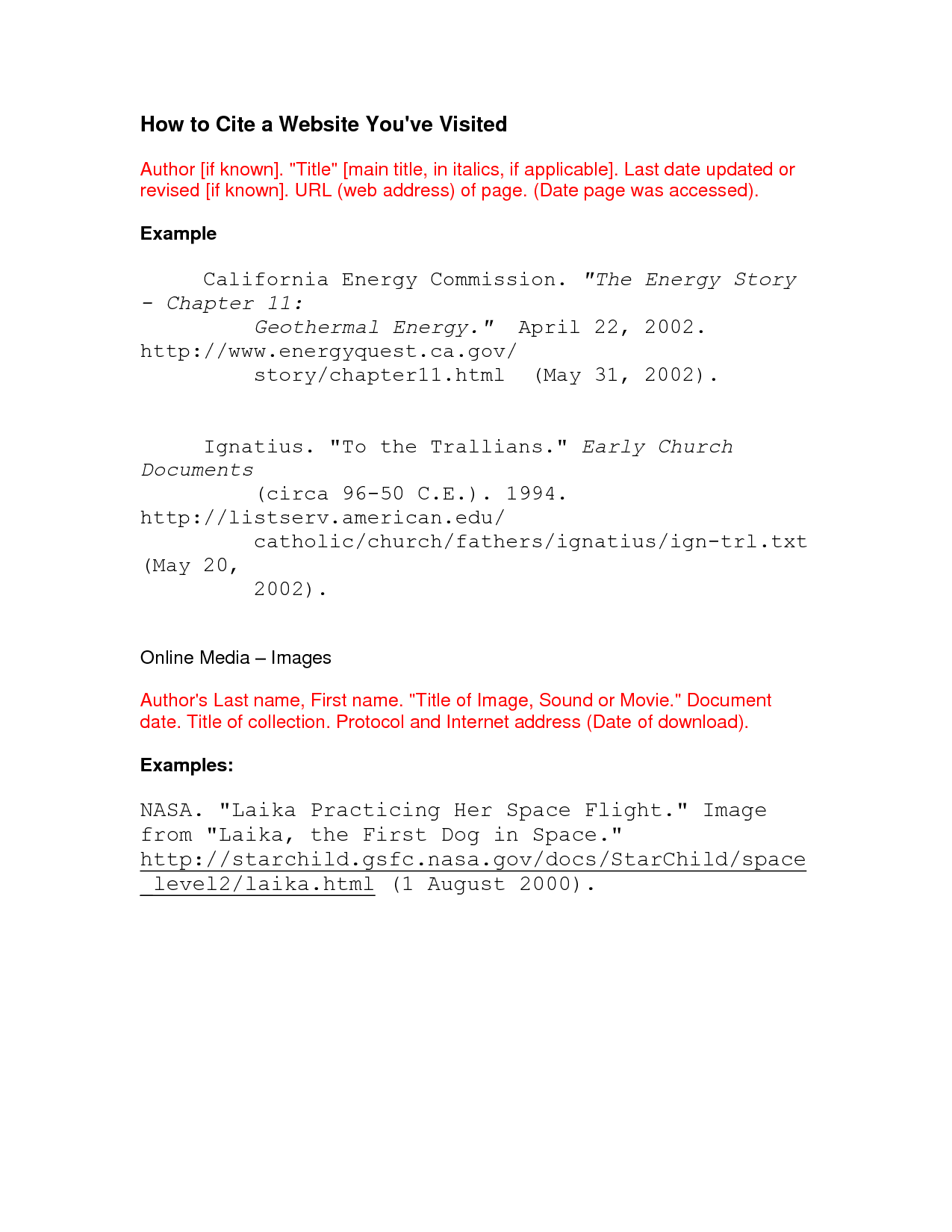 how to cite a website on blog solution for dummies - Mla Citation Essay Example