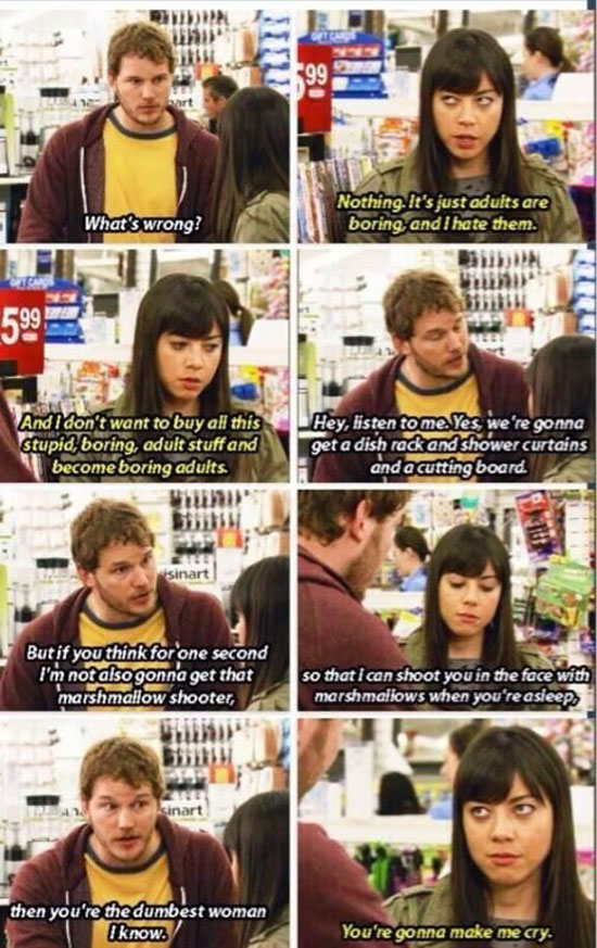 Parks And Rec Nature Quotes