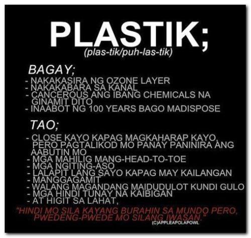 Quotes Sa Pekeng Kaibigan: Plastic Quotes Tagalog About People. QuotesGram
