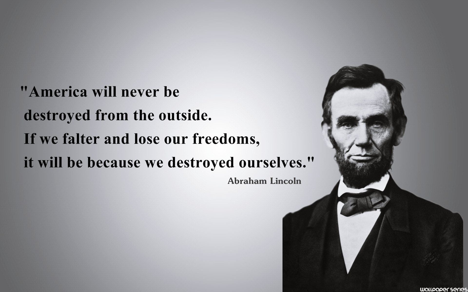 Abraham Lincoln Quotes On Freedom Quotesgram