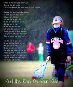 Motivational lacrosse goalie quotes