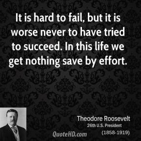 Theodore Roosevelt Quotes About Failure. QuotesGram