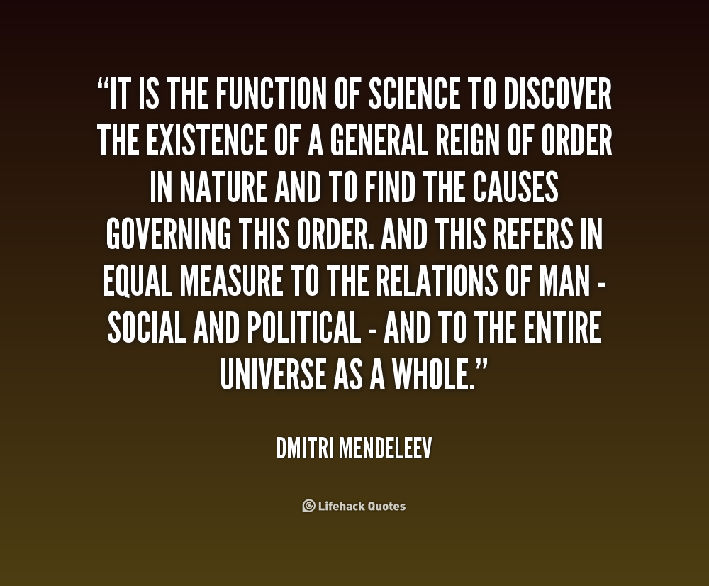 a biography of dmitri mendeleev Who is dmitri mendeleev he formulated the periodic law he corrected the properties of some already discovered elements and aslo predicted the properties.