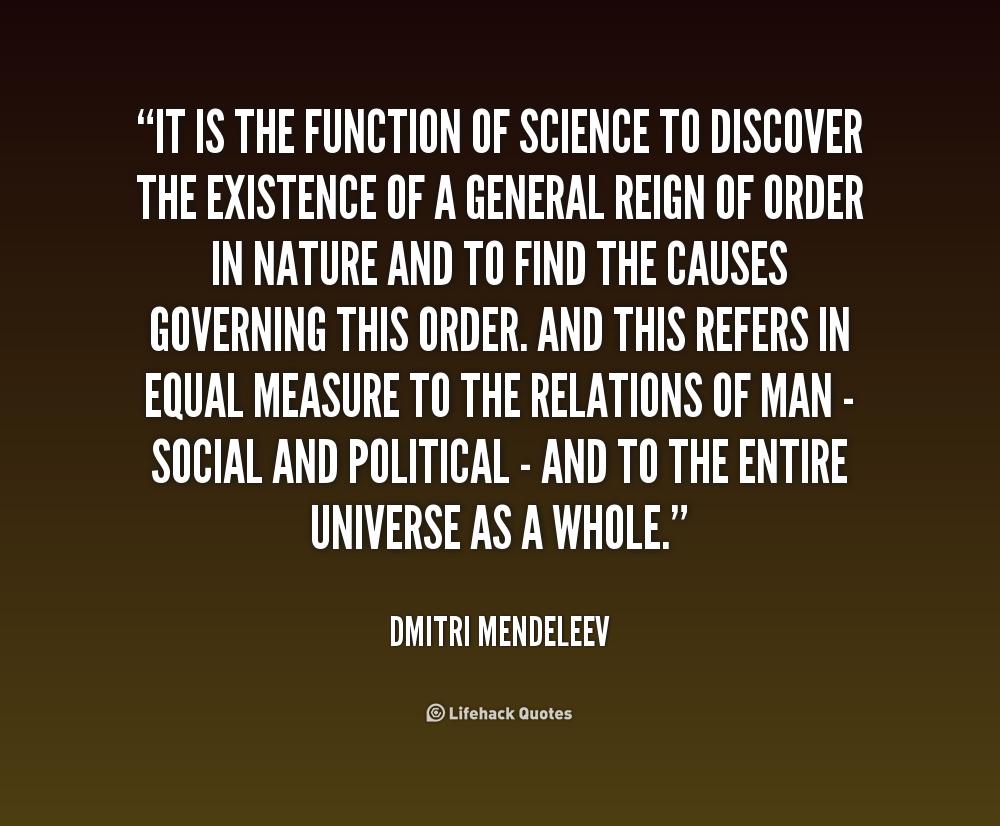 Dmitri Mendeleev Quotes Quotesgram