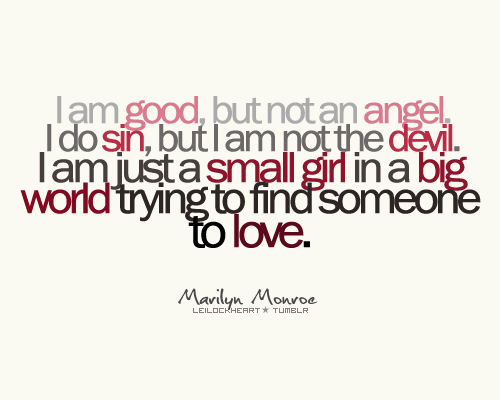 Angel And Devil Girl Quotes. QuotesGram