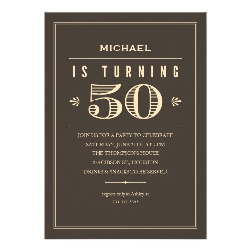 Fifty Birthday Quotes For Men Quotesgram