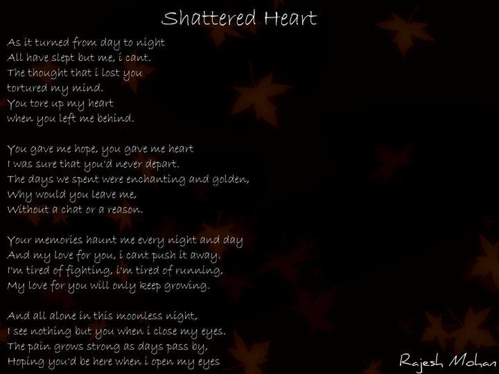 Heart And Soul Quotes Quotesgram: Shattered Broken Heart Quotes. QuotesGram