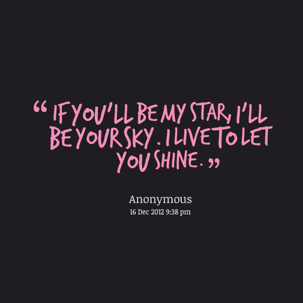 be a star quotes quotesgram