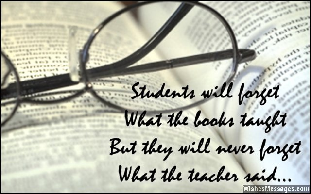 Inspiring Quotes For Teachers From Students Quotesgram
