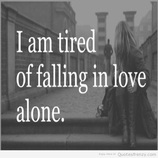 Saying Quotes About Sadness: Alone Sad Quotes. QuotesGram