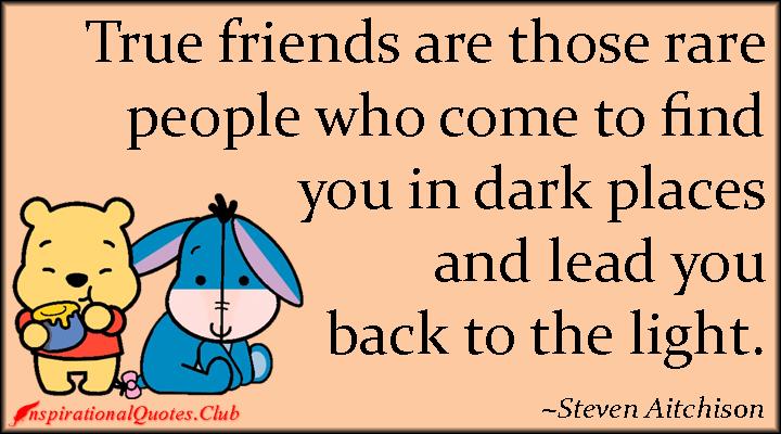 True Friends Quotes N Images : True friendship quotes inspirational quotesgram