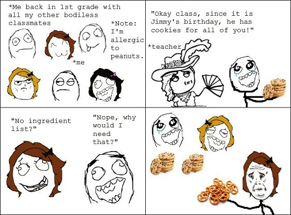 Funny Quotes About Allergies: Food Allergy Quotes. QuotesGram
