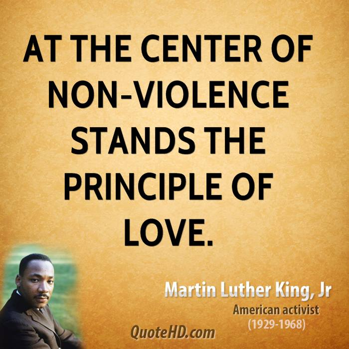Mlk Quotes Service: Martin Luther King Quotes On Violence. QuotesGram