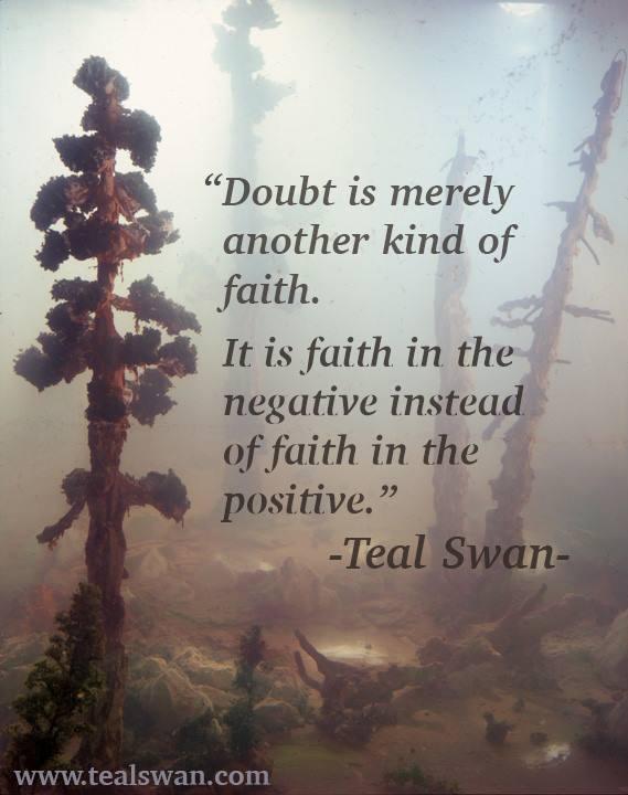 Positive Spiritual Energy Quotes: Doubt Quotes. QuotesGram