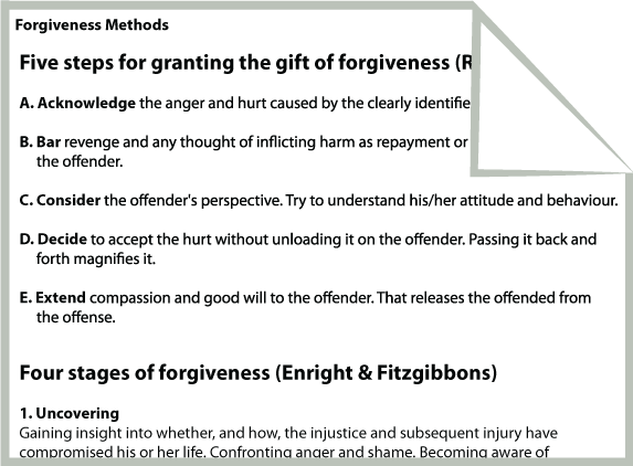 Marriage Counseling In Spanish Quotes QuotesGram – Forgiveness Worksheets