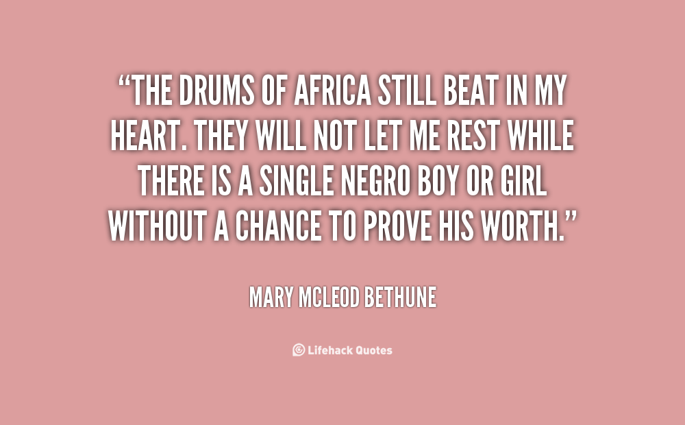 Mary McLeod Bethune Quotes. QuotesGram