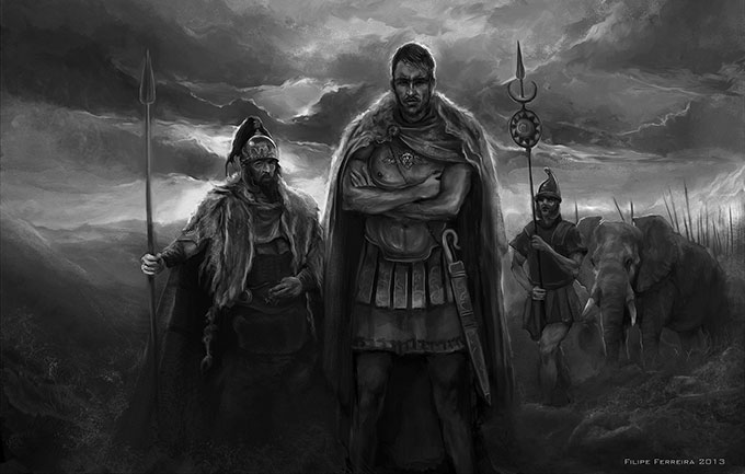 the life and military career of hannibal barca Hannibal (or hannibal barca) was the leader of the military forces of carthage that fought against rome in the second punic war hannibal, who almost overpowered rome, was considered rome's greatest enemy.