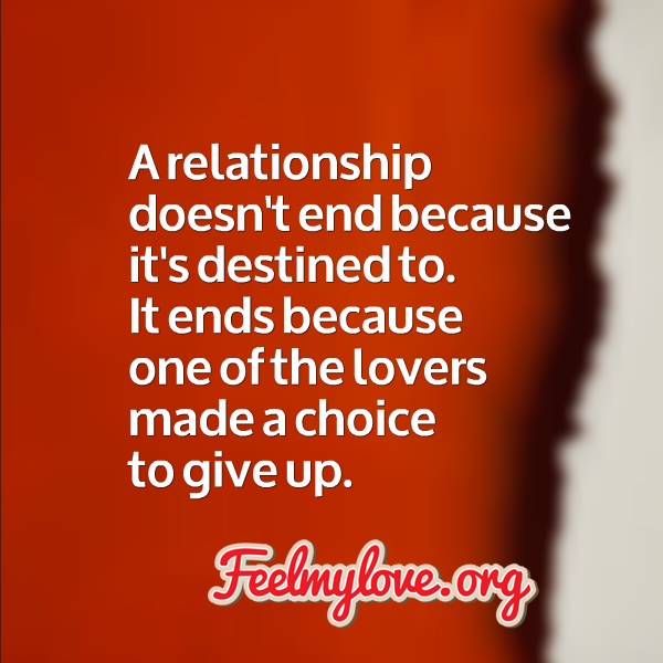 Relationships Ending Quotes: Feeling Like A Ending Relationship Quotes. QuotesGram