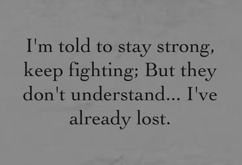 I Hate My Self Poems: Depression Suicide Quotes With Pics. QuotesGram