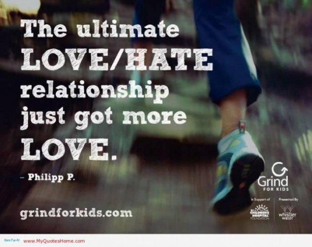 relationship between love and hate quotes by famous people