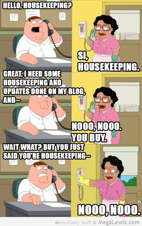 Family Guy Maid Quotes. QuotesGram