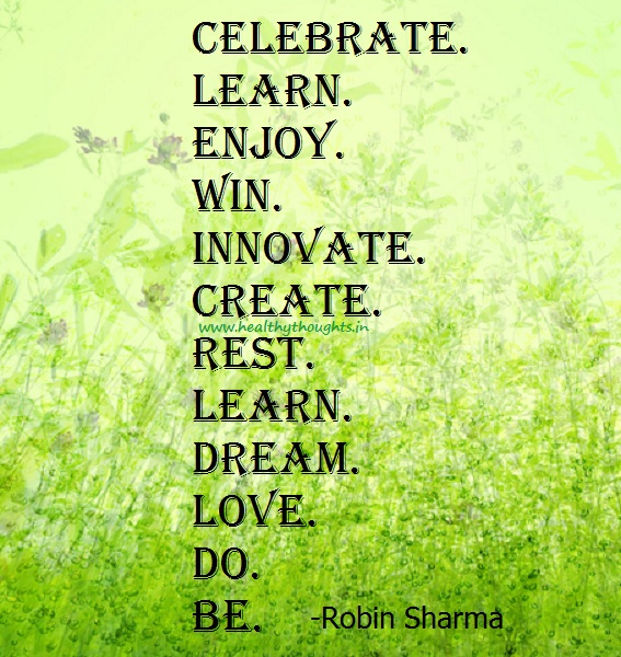 Inspirational Quotes About Celebrating Life. QuotesGram