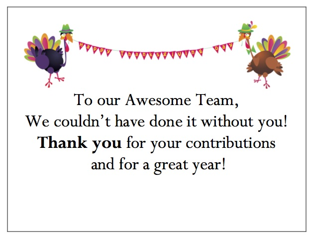 Holiday Thank You Quotes For Employees. QuotesGram