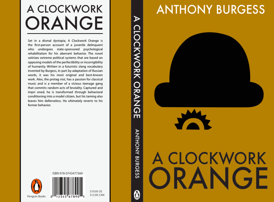 an analysis of juvinille deliquency in the novel clockwork orange by anthony burgess Although in a clockwork orange anthony burgess's original novel of 1962 and the film glazzies groodies heide a clockwork horrorshow identify.