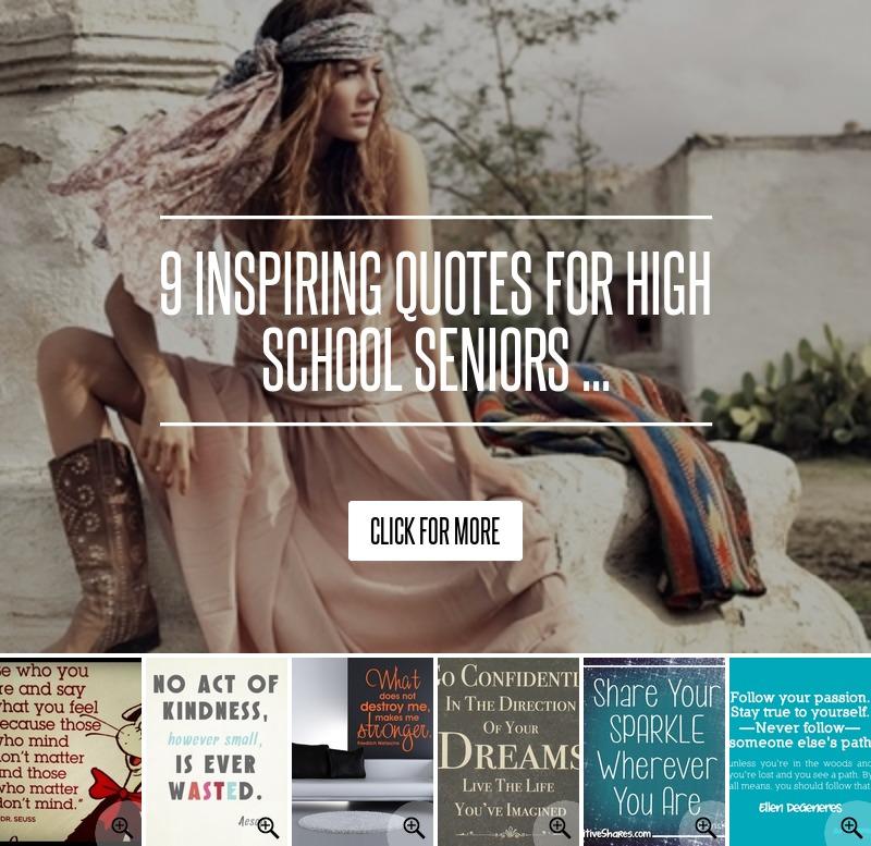 Inspirational Quotes For High School Seniors. QuotesGram