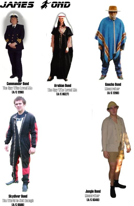 James bond villains costumes - James bond costume ...