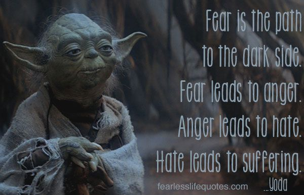 Yoda Quotes: Yoda Quotes About Fear. QuotesGram