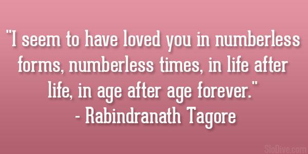 rabindranath tagore bengali quotes in quotesgram