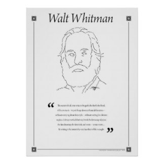 A comparison of walt whitman and emily dickinson in writing