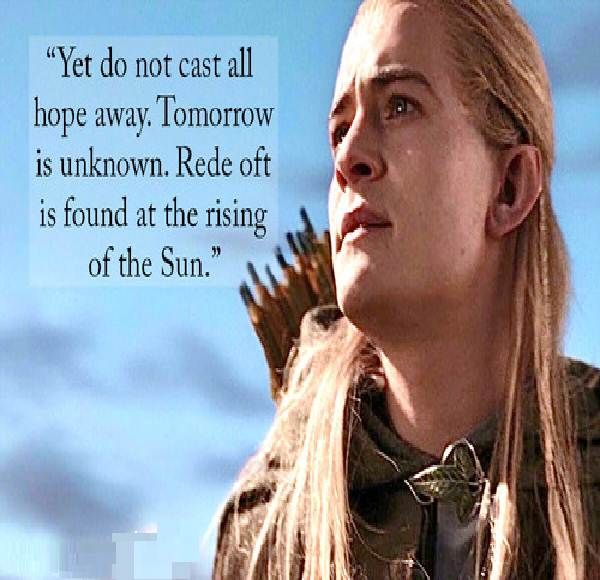 Good Morning Hobbit Quote: Inspirational Quotes From Lord Of The Rings. QuotesGram