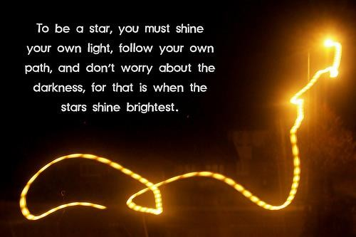 Quotes About Shining Light: Shine Like A Star Quotes. QuotesGram
