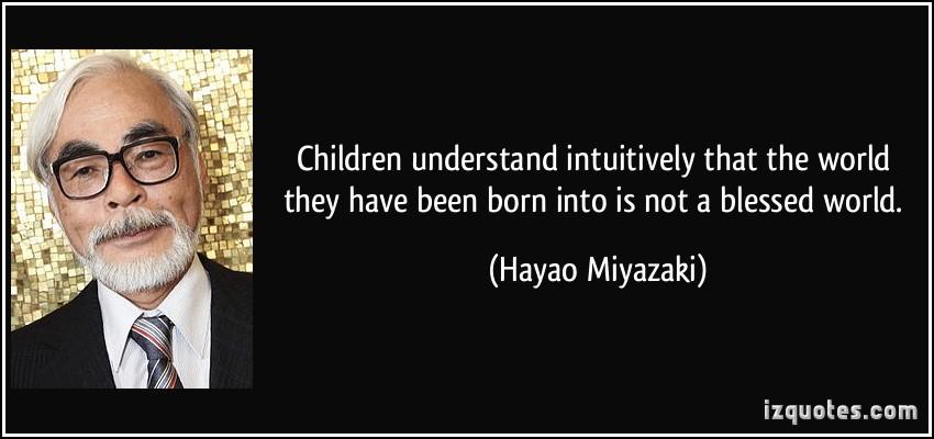 quotes from hayao miyazaki movies  quotesgram