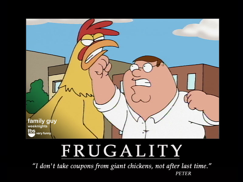 Chicken Inspirational Quotes: Frugal Quotes. QuotesGram
